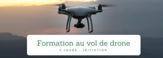 Formation au vol de drone