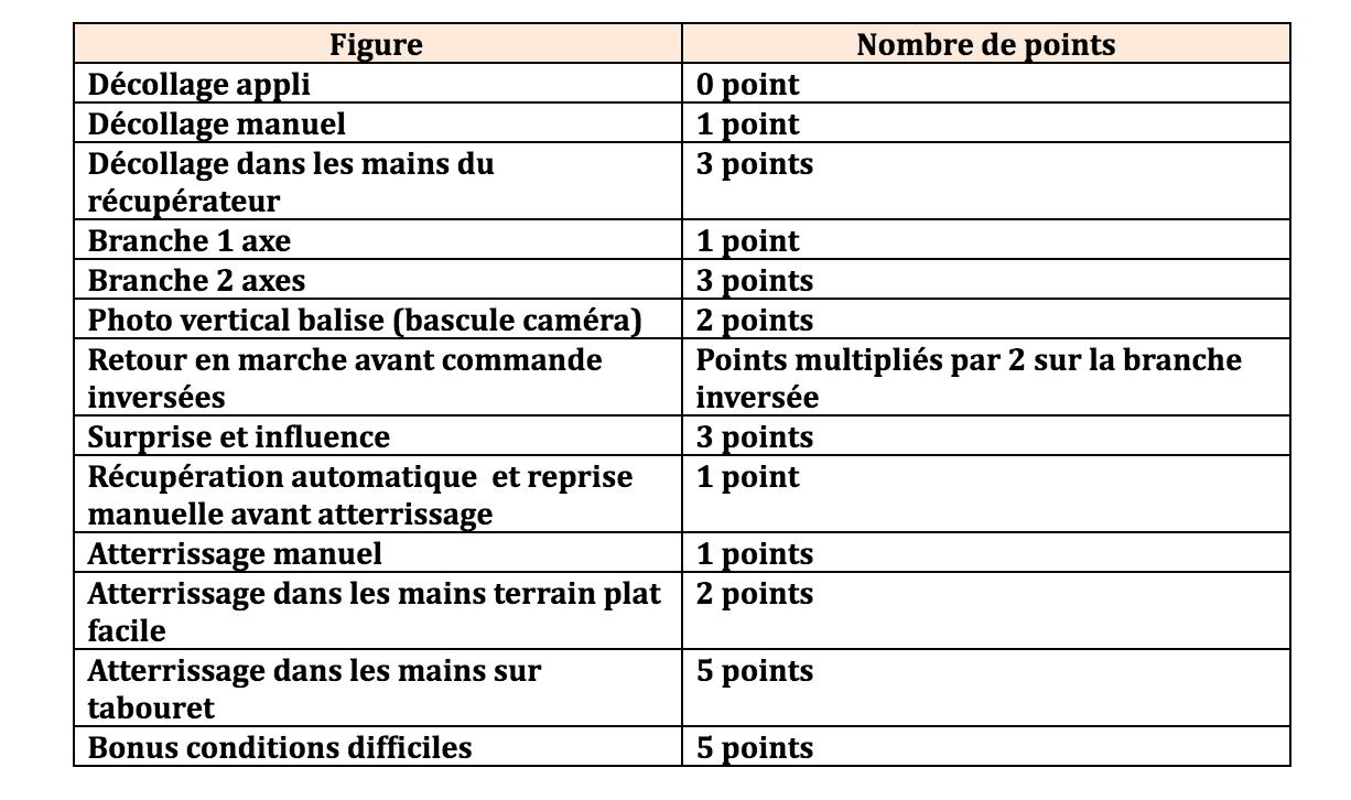 Critères d'évaluation de l'examen final (évaluation académique)