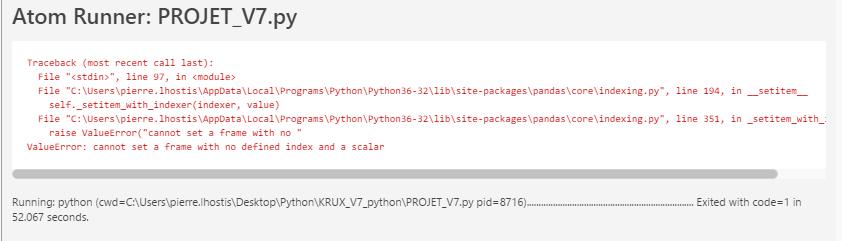 R solu pandas settingwithcopywarning try using loc - Code erreur s04 03 ...