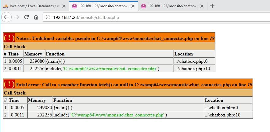 Affichez les utilisateurs connect s par ricem page 1 - Code erreur s04 03 ...