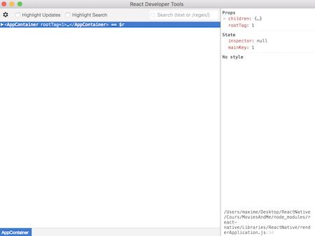 React Developper Tools