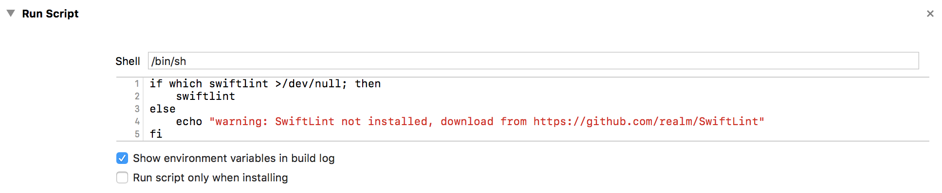 Install SwiftLint to assist with your syntax - Enhance an