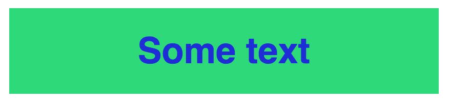High contrast color scheme (green/blue)