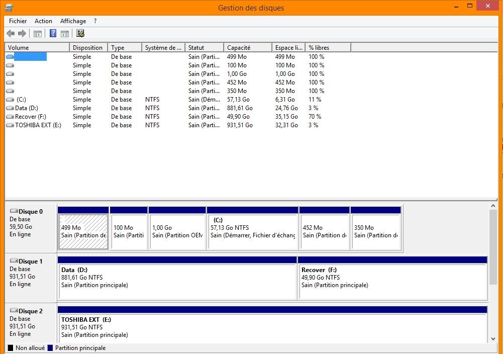 Mon disque dur externe me refuse l 39 acc s par madness 2 - Reparer table de partition disque dur ...