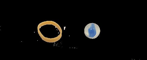 L'élastique et la balle