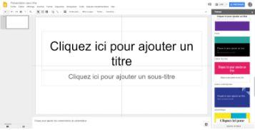 Masques Google Slide