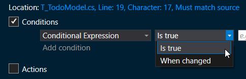 Condition sur une expression booléenne