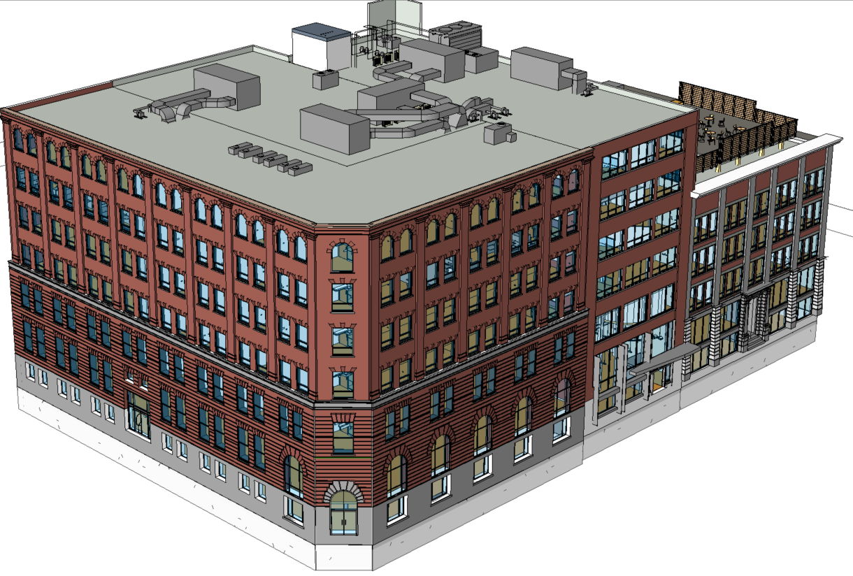 Logiciel de modélisation architectural
