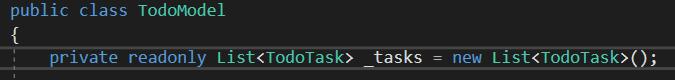 Pensez à initialiser _task