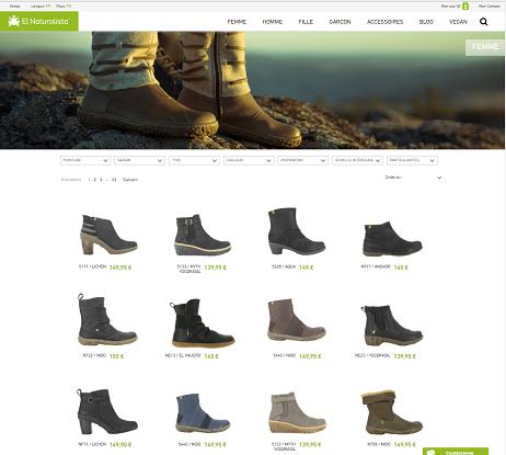 Page d'accueil de El Naturalista