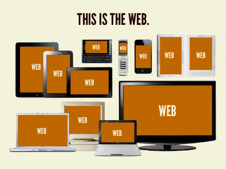 Un potpourri de toutes les technologies, tailles d'écran, performance, débit, type d'entrée, et plus.