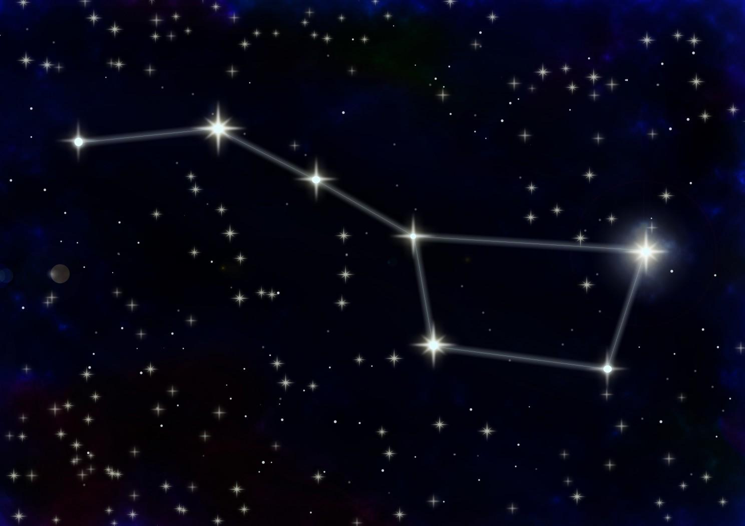 Nous voyons des formes dans les étoiles