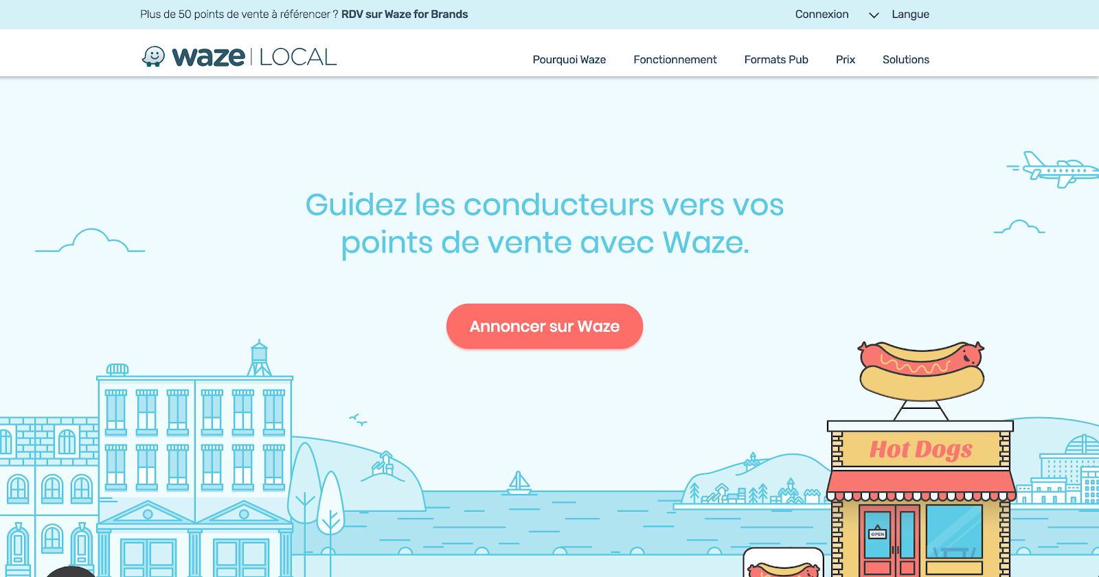 Waze fonctionne sur un modèle gratuit pour les utilisateurs