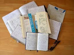 Cahiers, carnets de prise de note