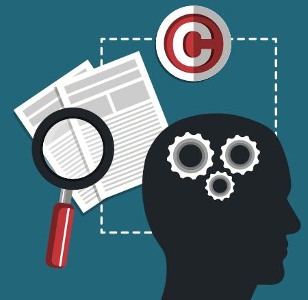 Les créations protégées par le copyright sont des ressources intellectuelles