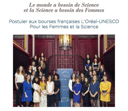 Groupe de femmes participant au programme lancé par l'Oréal
