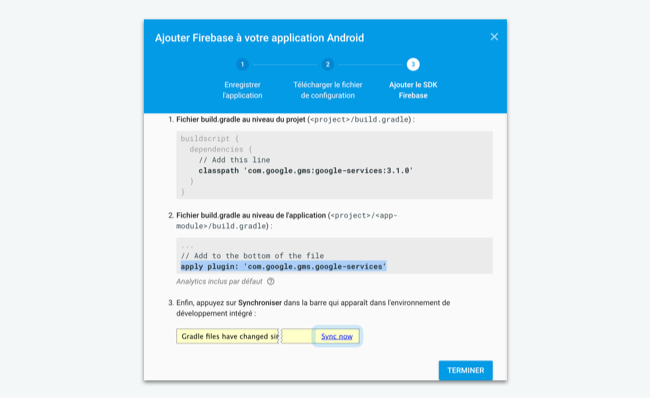 Integrate Firebase into an Android app - Create a scalable