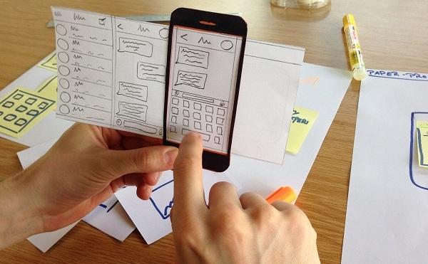 Exemple de prototype papier