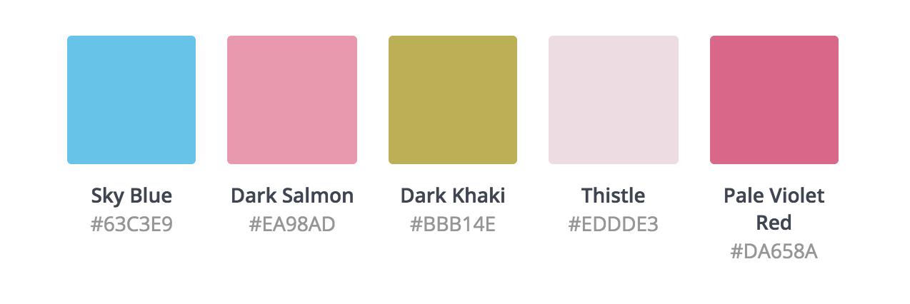 L'outil Color Palette