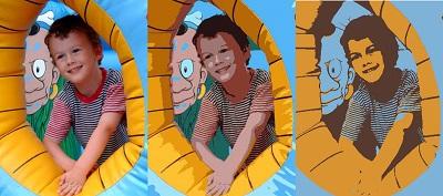 Compression des couleurs d'une image