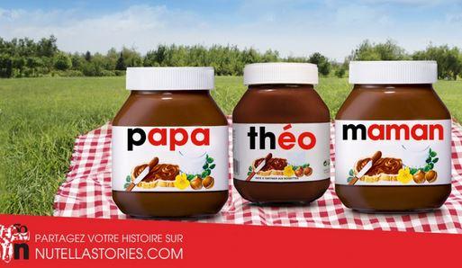 campagne publicitaires Nutella