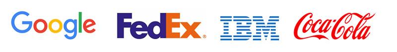 Logos typographiques