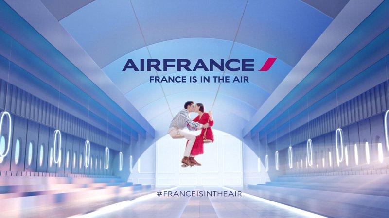 Campagne Air France Source : (Air France)