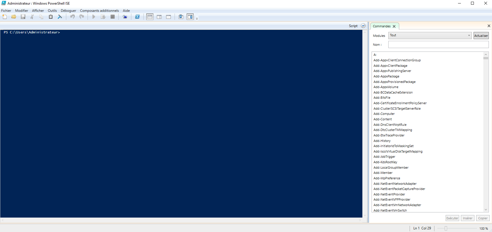 ISE PowerShell