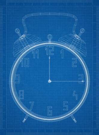Clock blueprint