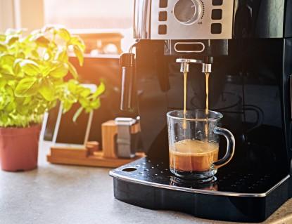 Fancy coffee machine