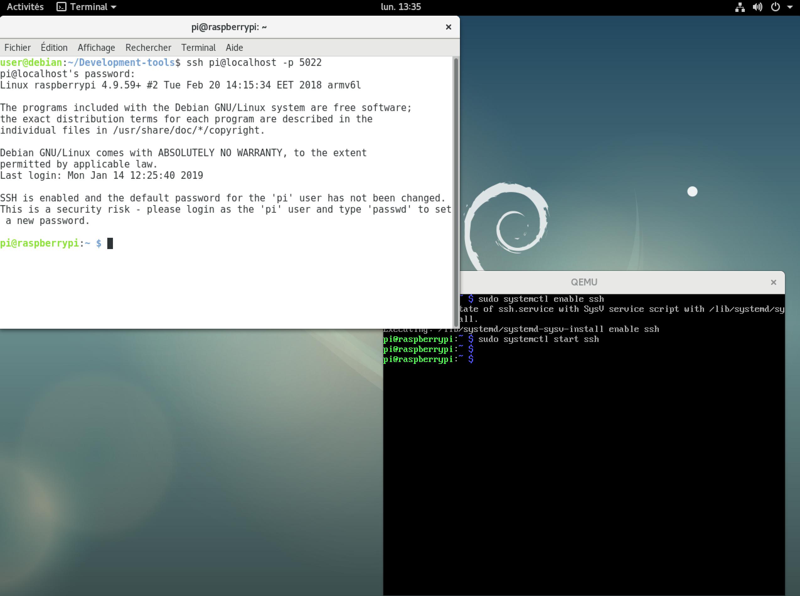 Configurez la base du système - Créez un Linux embarqué pour
