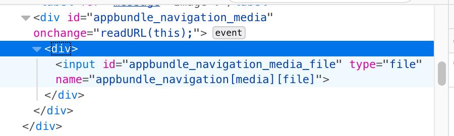 Résolu] Image preview JavaScript - onChange en attribut TWIG