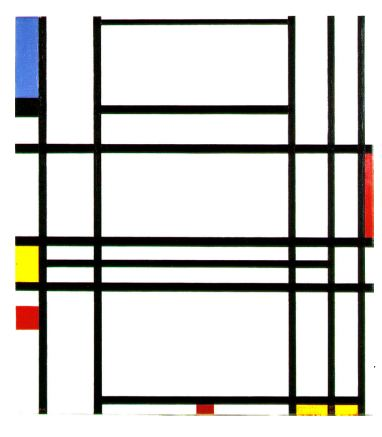 Composition n° 10, Piet Mondrian