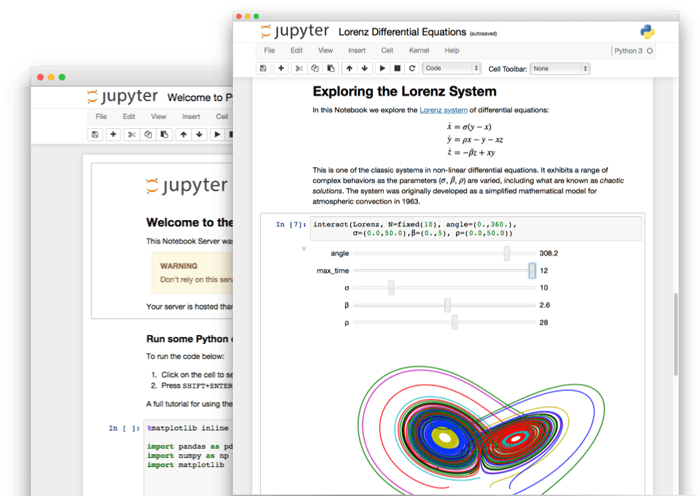 Code using a Jupyter Notebook - Learn Python Basics for Data