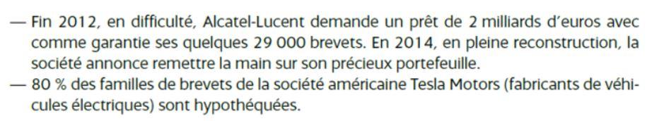 Source: « Guide INPI du management de la Propriété industrielle », Dominique Doyen, Patrick Pierre