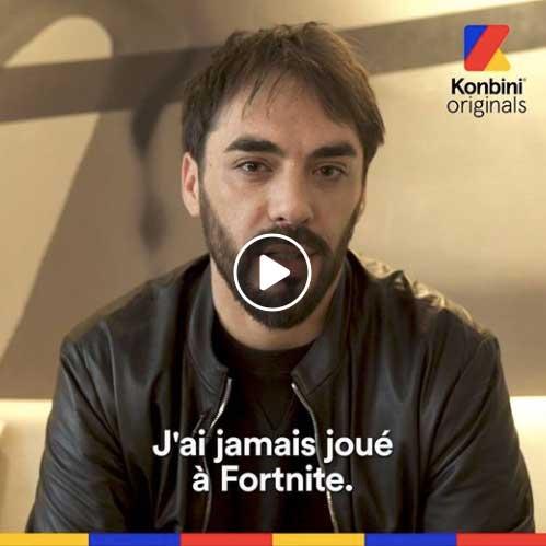 Image extraite d'une vidéo Konbini, au format carré