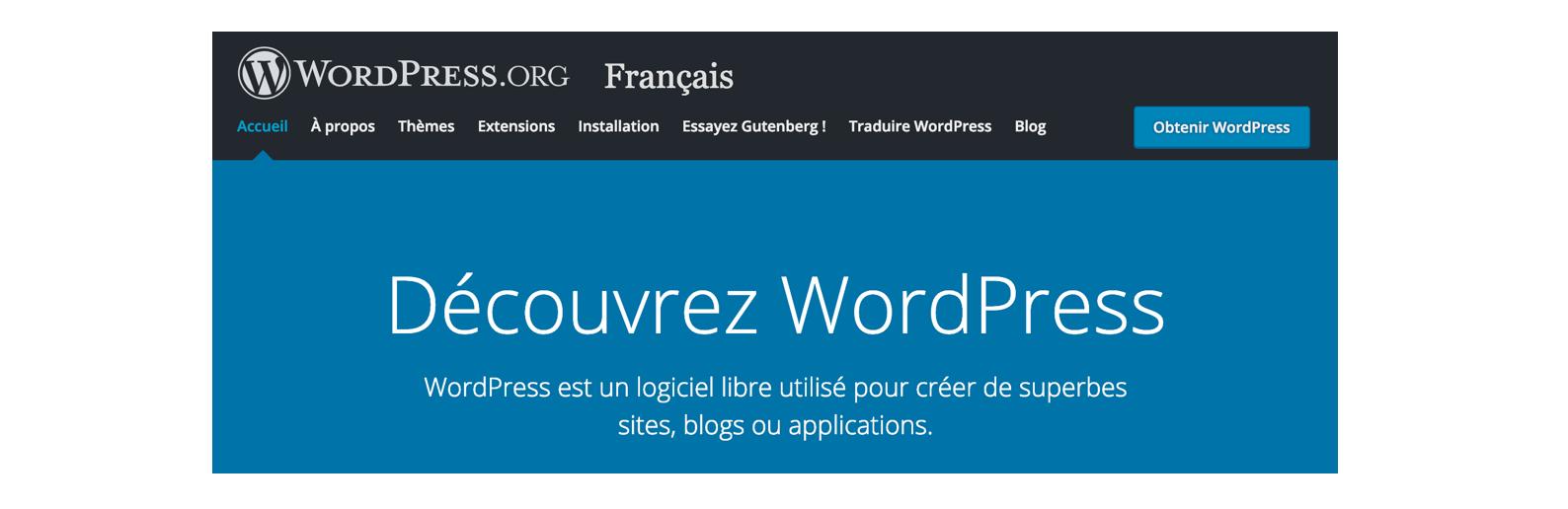 Vous pouvez par exemple créer un site internet sur WordPress