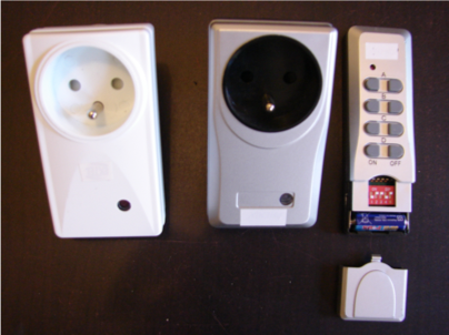 Prise électrique RF433