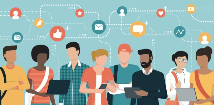 Utilisez des applications de networking