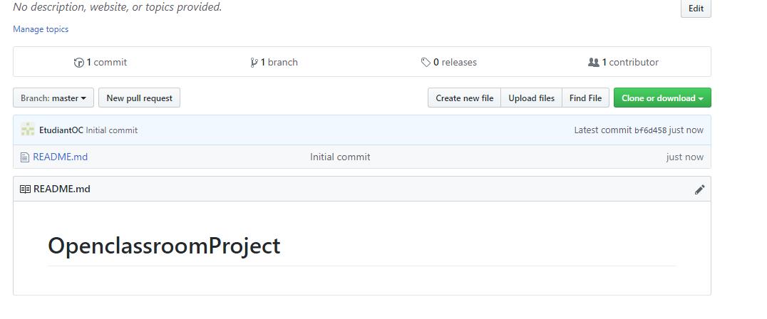 Votre premier dépôt Git
