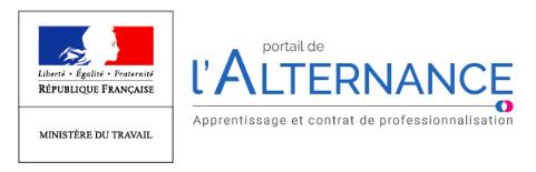 Le logo du Portail de l'Alternance.