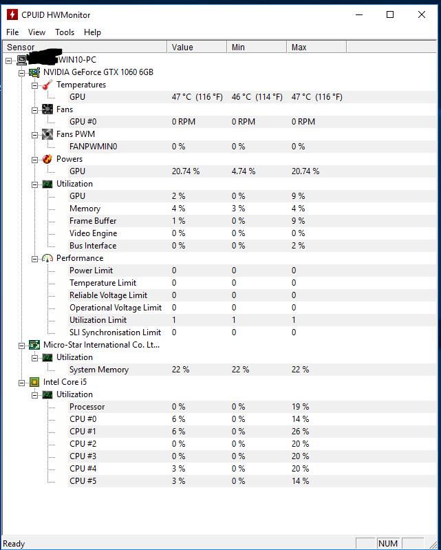 Résolu] Obtenir la température d'un Intel Core i5 8400 par Raynobrak