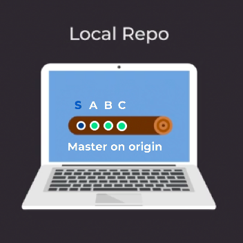 master branch in your local repository