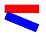 Rotation d'un rectangle