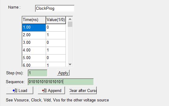 Création de 8 fronts actifs sur ClockProg