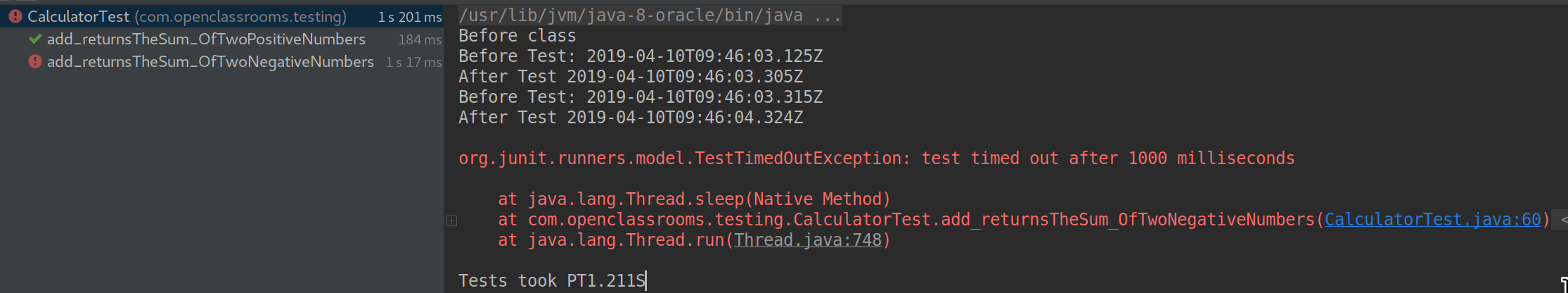 Create more powerful tests using JUnit annotations - Use