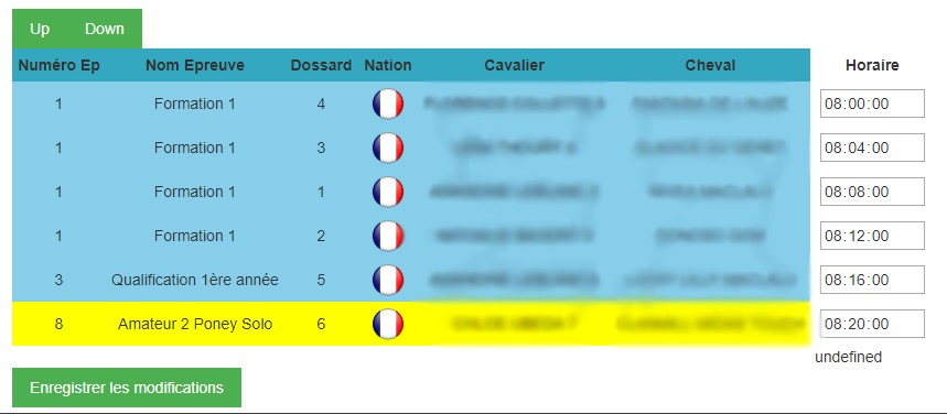 Enregistrer Position Ligne D Un Tableau Html Par Valentin85 Openclassrooms