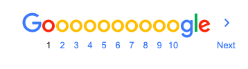 Google needs to paginate their results to not overwhelm your UI