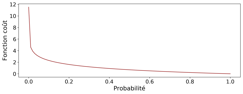 Fonction coût d'entropie croisée binaire