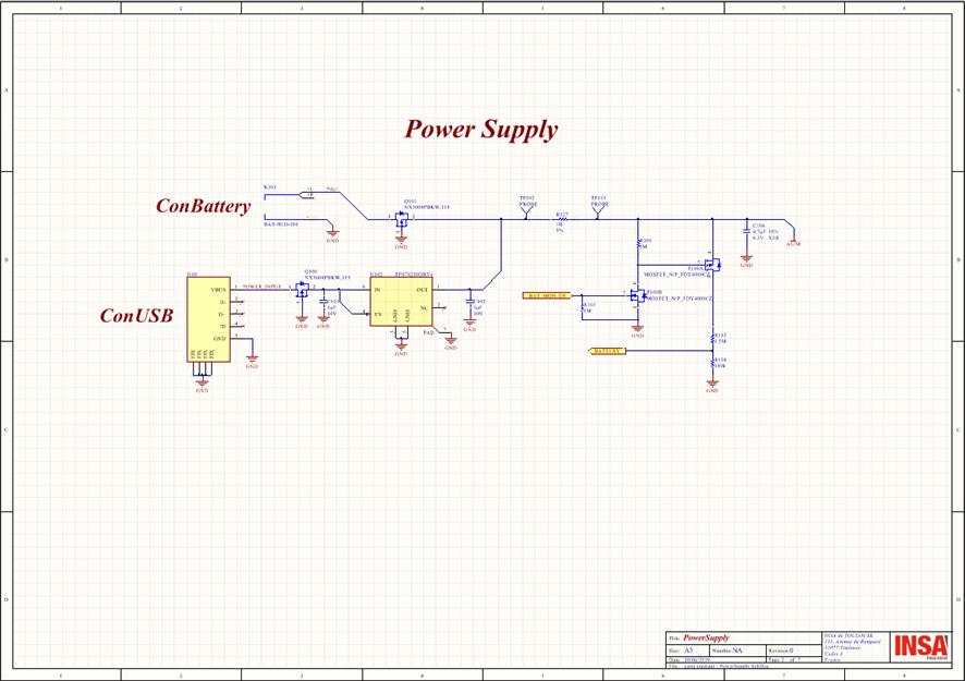 Schéma électrique de la fonction